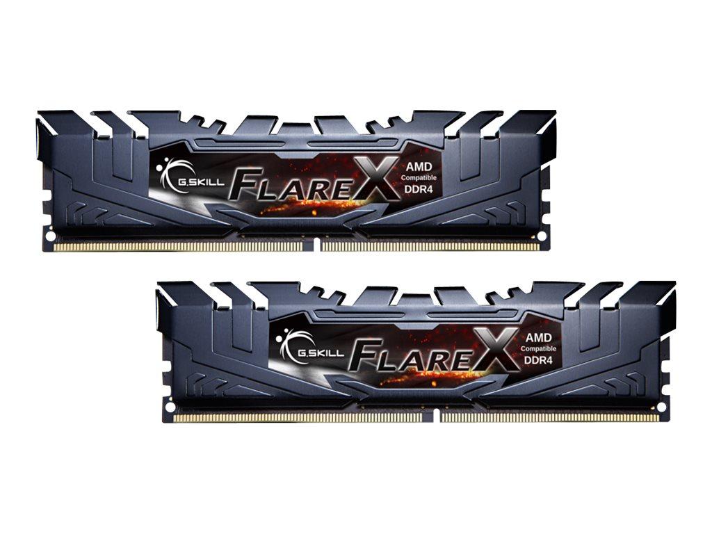 G.Skill Flare X series - AMD Edition - DDR4 - 16 GB: 2 x 8 GB