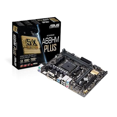 ASUS Mainboard A68HM-PLUS FM2+ 2xDDR3 4xSATA3 mATX