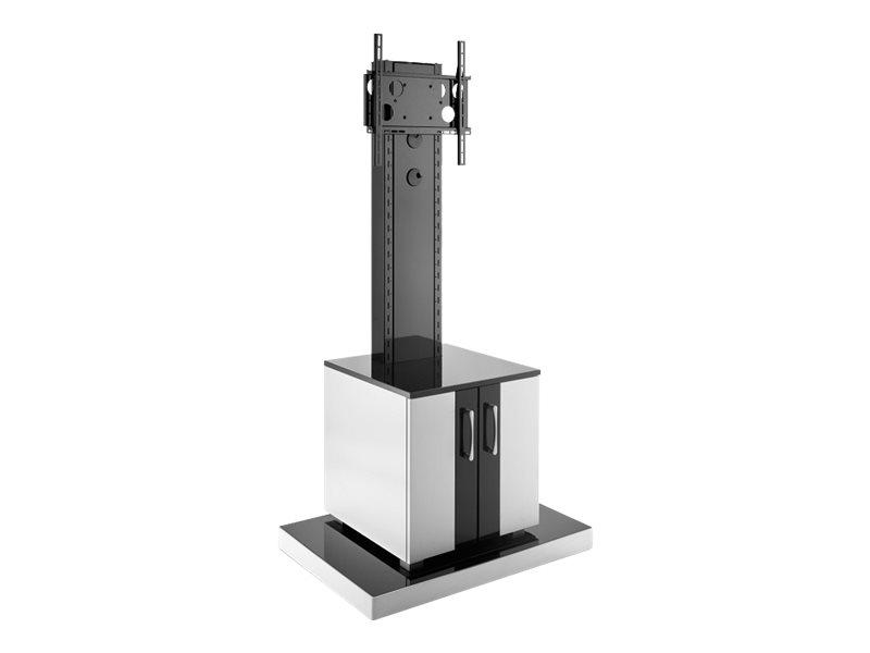 """Hagor Info-Tower CL - Aufstellung - für Flachbildschirm - verriegelbar - Bildschirmgröße: 81-140 cm (32""""-55"""")"""