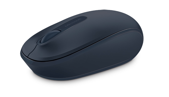 Microsoft Wireless Mobile Mouse 1850 RF Wireless Optisch 1000DPI Ambidextrös Blau Maus