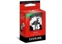 Lexmark Cartridge No. 14 - Tintenpatrone Original, Refill - Schwarz