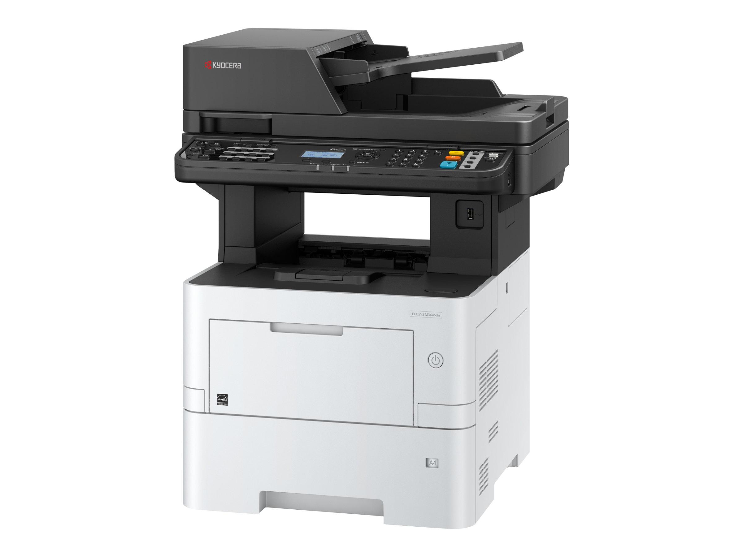Kyocera ECOSYS M3645dn - Multifunktionsdrucker - s/w - Laser - A4 (210 x 297 mm)