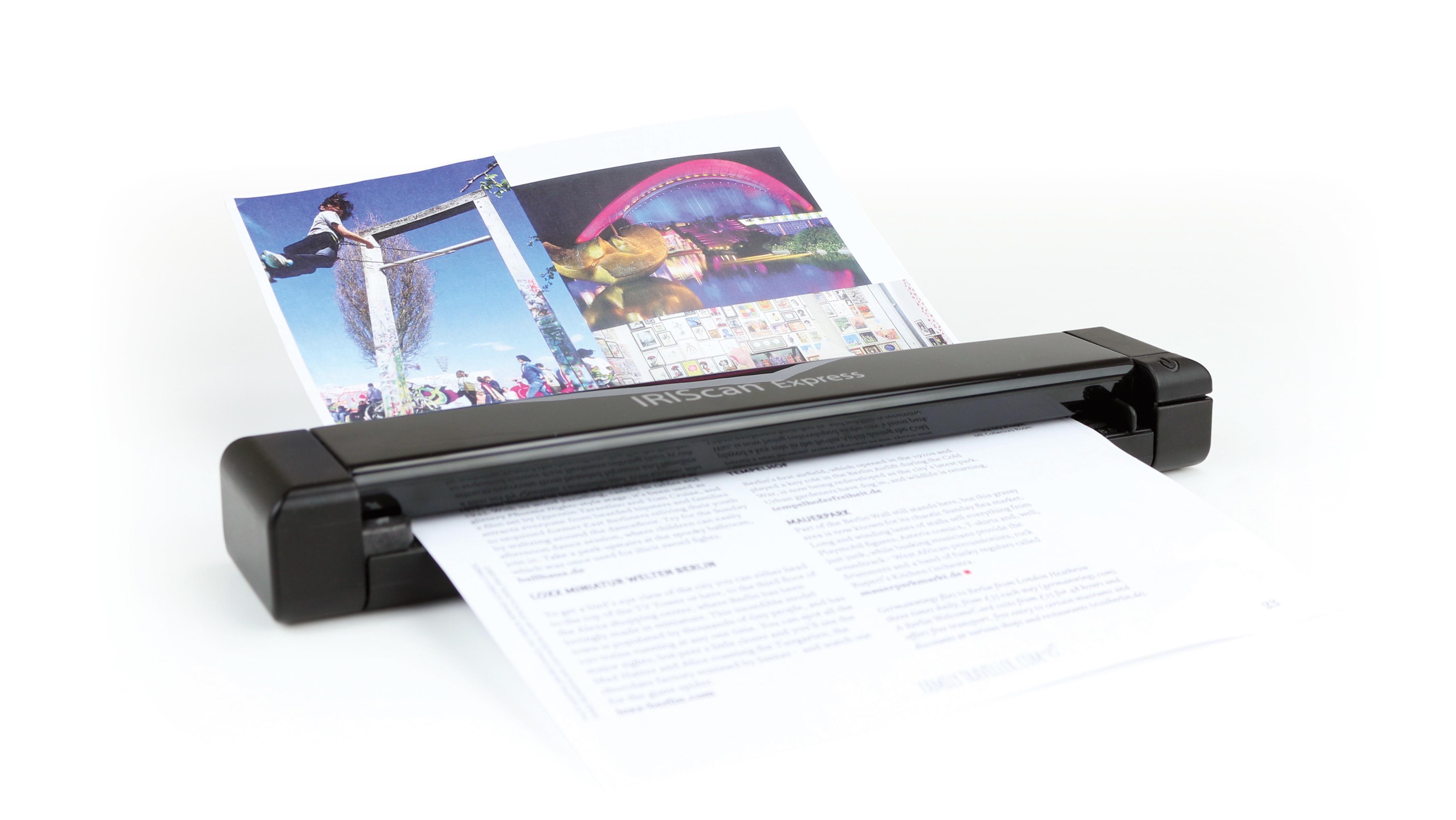 IRIS IRIScan Express 4 - Einzelblatt-Scanner - 216 x 297 mm