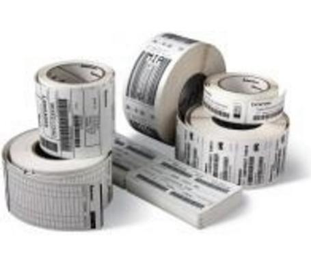 Zebra Z-Select 2000D - Papier - Acrylkleber - beschichtet - perforiert - hochweiß - 101.6 x 101.6 mm 8400 Etikett(en) (12 Rolle(n)