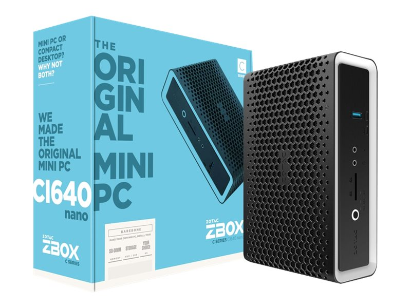 ZOTAC ZBOX C Series CI640 nano - Barebone - Mini-PC