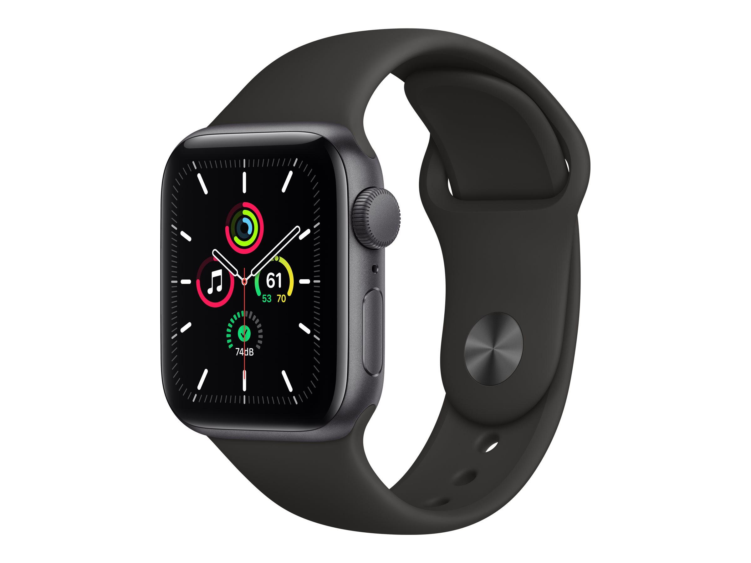 Apple Watch SE (GPS) - 40 mm - Weltraum grau Aluminium