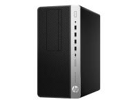 ProDesk 600 G3 3.4GHz i5-7500 Micro Tower Schwarz - Silber PC