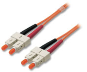 Lindy LWL Duplex Kabel SC/SC 62.5/125µm Multimode 10m - Sonstige Produkte
