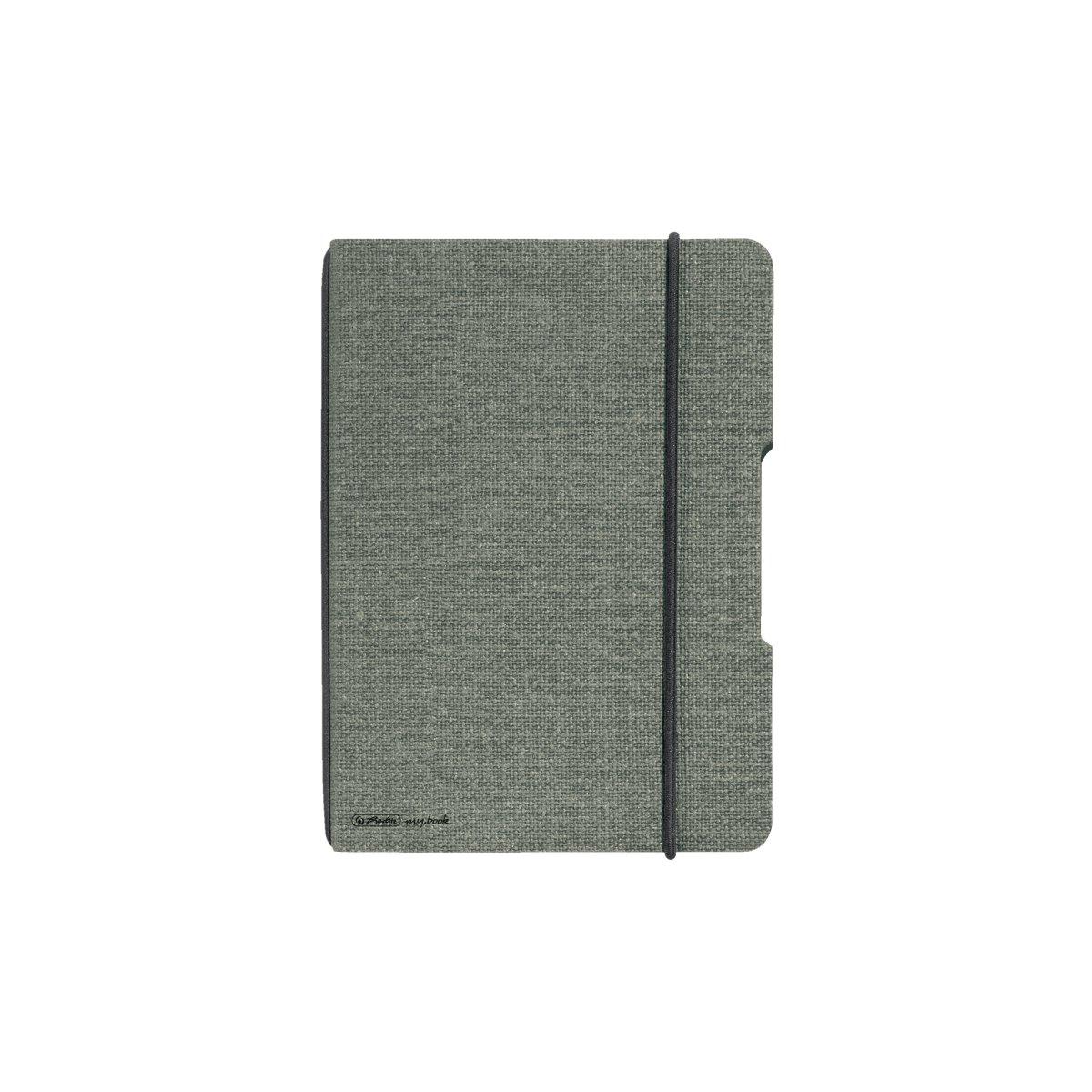 Vorschau: Herlitz 50033720 - Einfarbig - Grau - A6 - 40 Blätter - Erwachsener