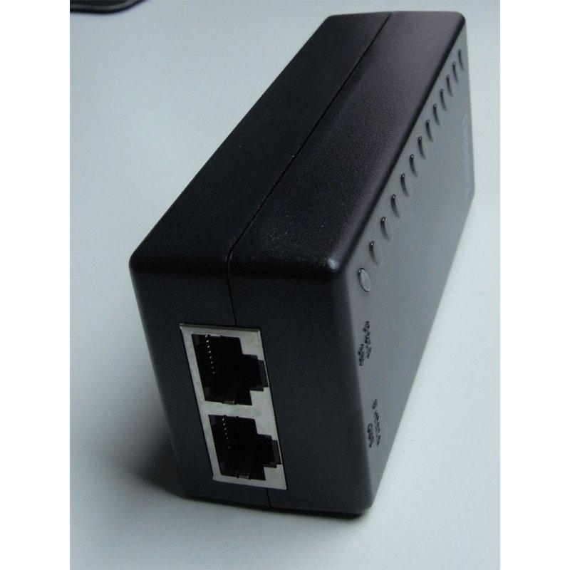 WANTEC 5561 - Schnelles Ethernet - 10,100 Mbit/s - 802.3af - Schwarz - Kurzschluß - 48 V