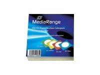 MEDIARANGE CD-paper color-pack - CD-Hülle - Kapazität: 1 CD (Packung mit 100)