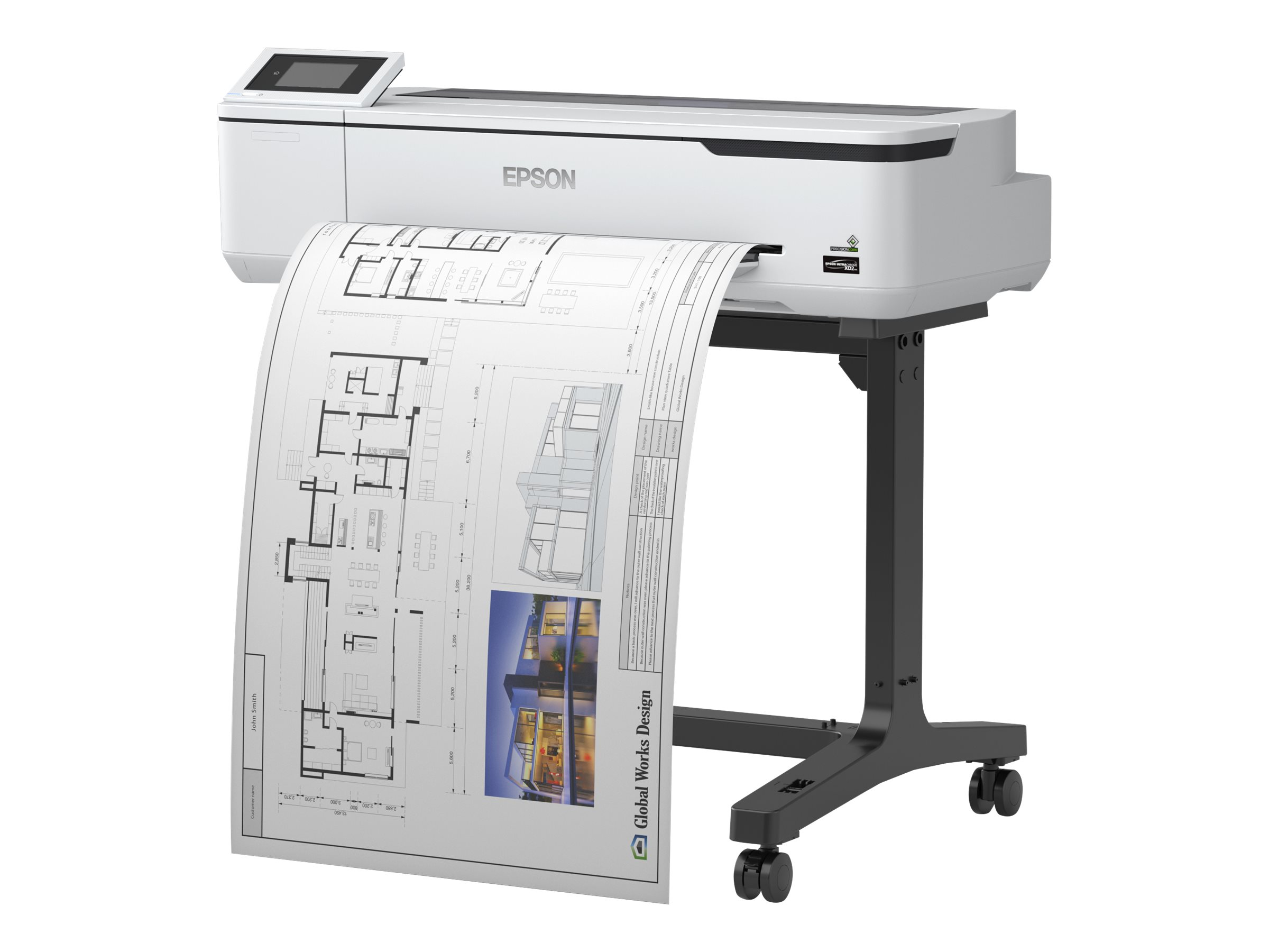 "Epson SureColor SC-T3100 - 610 mm (24"") Gro?formatdrucker - Farbe - Tintenstrahl - Rolle A1 (61,0 cm)"