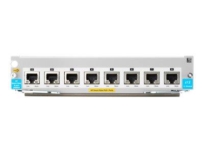 HPE Aruba 8p 1/2.5/5/XGT PoE+ v3 zl2 Module (J9995A)
