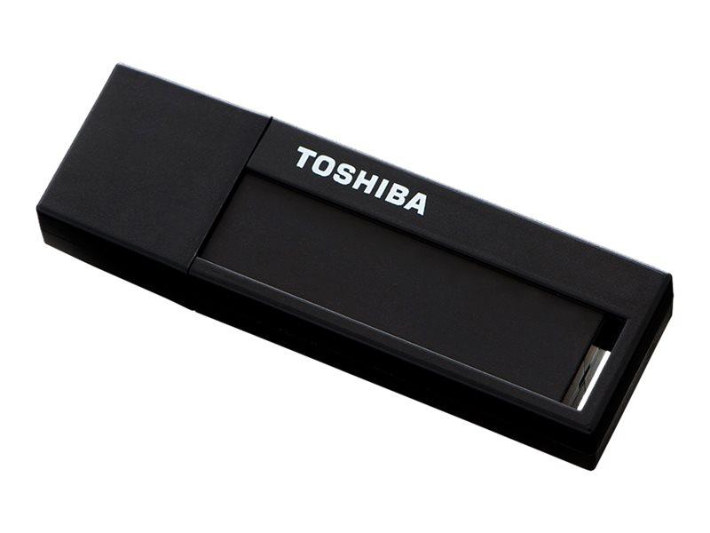 Toshiba TransMemory U302 - USB-Flash-Laufwerk 64 GB - USB 3.0 - Schwarz