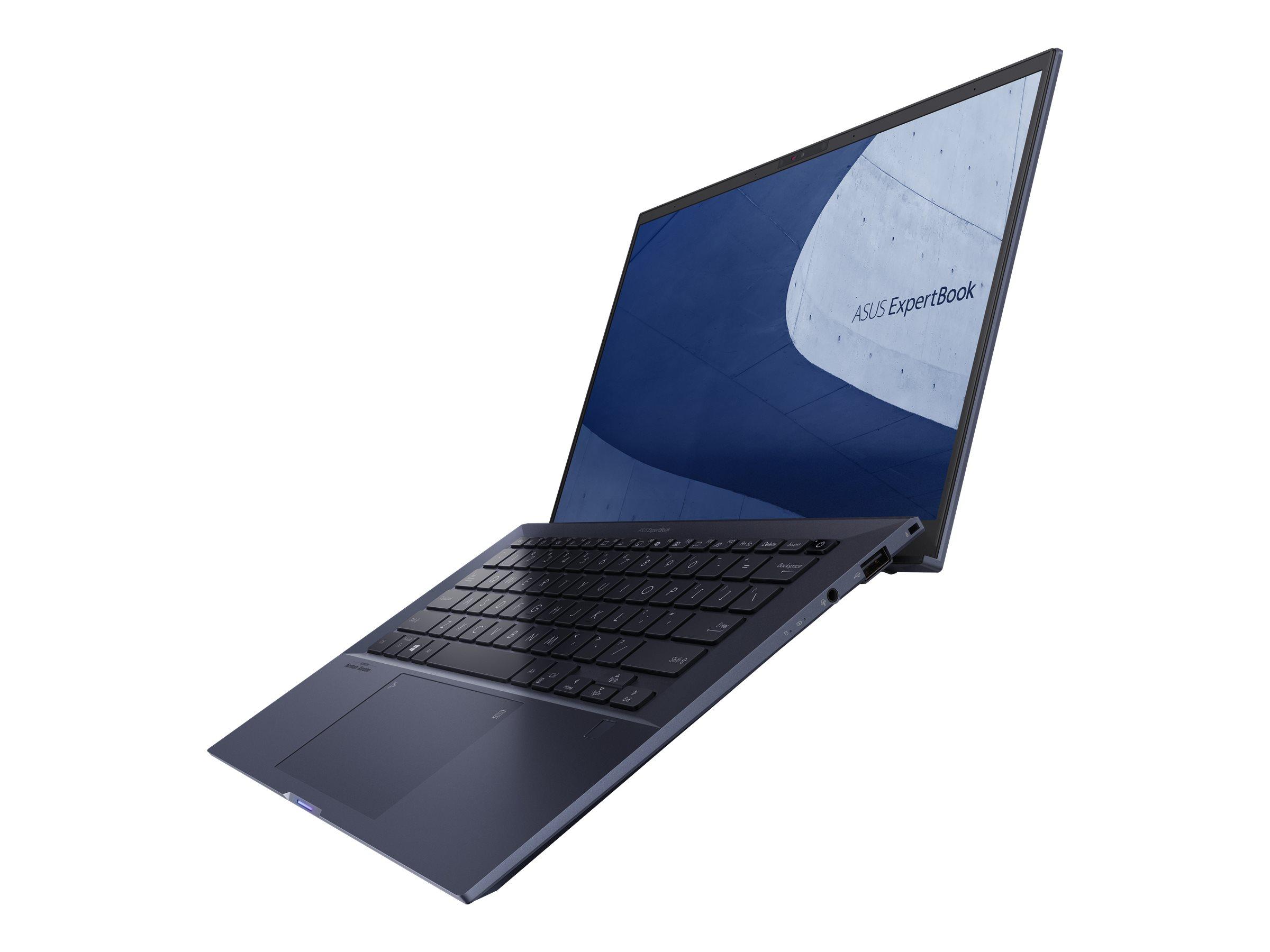 "Vorschau: ASUS ExpertBook B9450FA BM0483R - Core i7 10610U / 1.8 GHz - Win 10 Pro 64-Bit - 16 GB RAM - 1 TB SSD NVMe - 35.6 cm (14"")"
