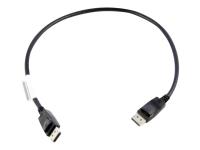 0.5m DisplayPort 0,5 m Schwarz