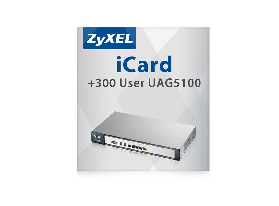 ZyXEL iCard 300U UAG5100 - Software - Nur Lizenz