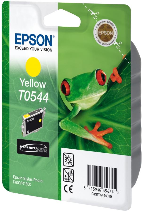 Epson T0544 - Druckerpatrone - 1 x pigmentiertes Gelb