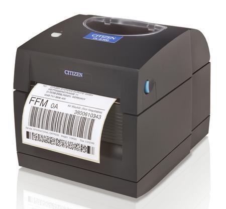 Citizen CLS300 Direct thermal 203 x 203 DPI 102 mm/sec 10.8 cm 3.81 cm 1.727 m