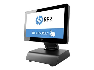 """HP RP2 Retail System 2030 - All-in-One (Komplettlösung) - 1 x Pentium J2900 / 2.41 GHz - RAM 4 GB - HDD 500 GB - HD Graphics - GigE - FreeDOS 2.0 - Monitor: LED 35.6 cm (14"""")"""