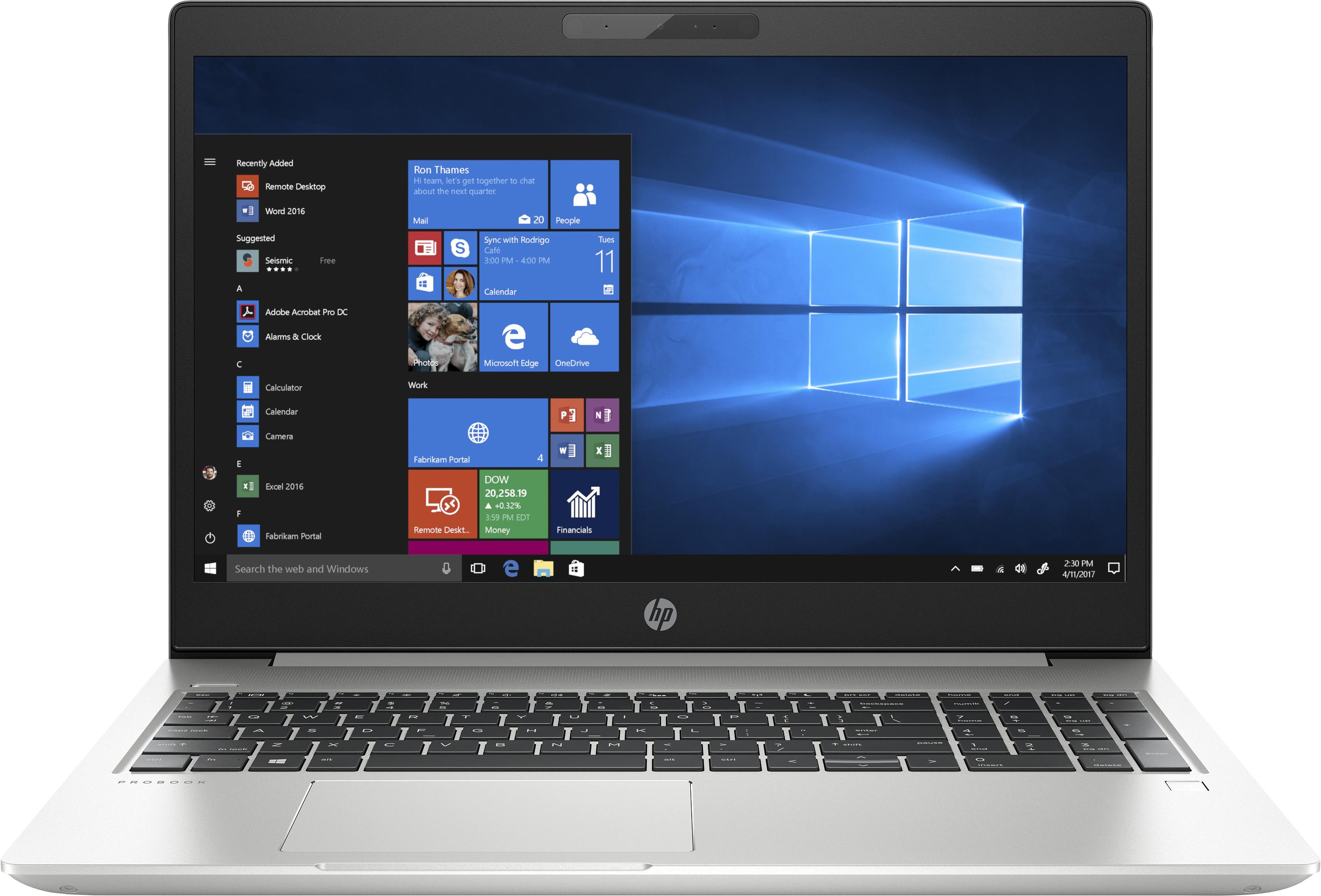 HP ProBook 450 G6 - Intel® Core™ i5 der achten Generation - 1,6 GHz - 39,6 cm (15.6 Zoll) - 1920 x 1080 Pixel - 8 GB - 256 GB