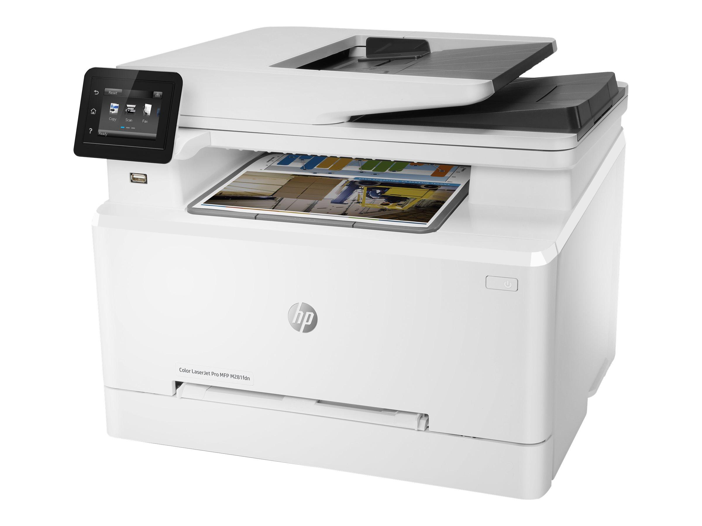HP Color LaserJet Pro MFP M281fdn - Multifunktionsdrucker - Farbe - Laser - Legal (216 x 356 mm)