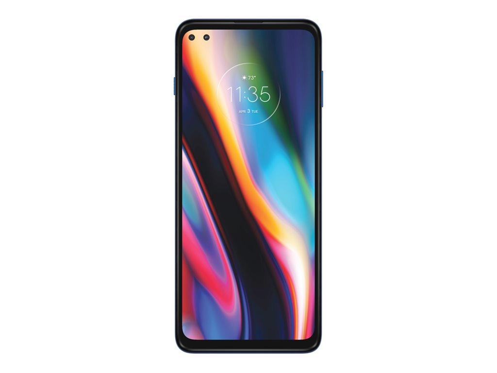 "Motorola Solutions Motorola Moto G 5G Plus - Smartphone - Dual-SIM - 5G NR - 128 GB - microSD slot - 6.7"" - 2520 x 1080 Pixel (409 ppi (Pixel pro Zoll))"