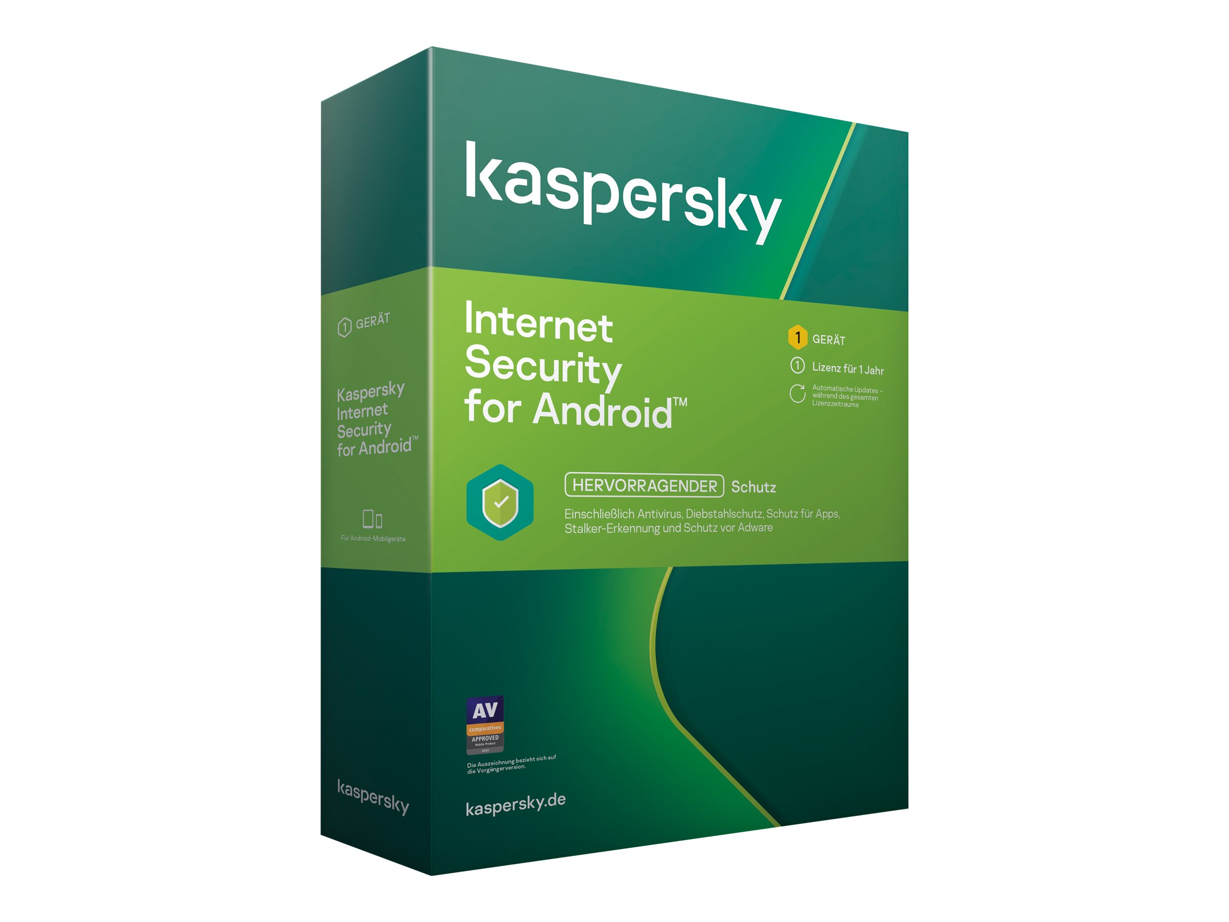 Kaspersky Internet Security for Android - Box-Pack (1 Jahr)