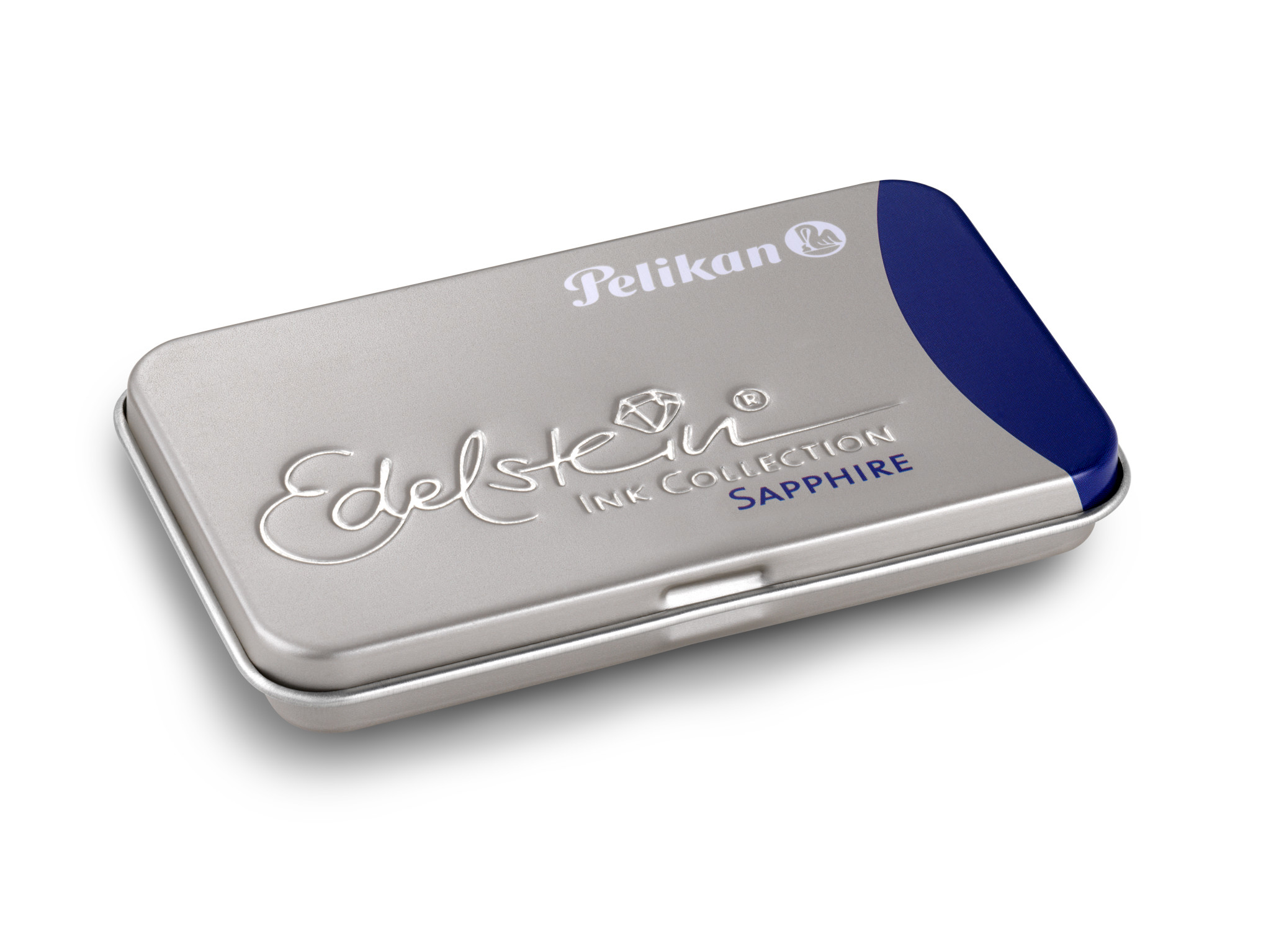Pelikan 339630 - Blau - Blau - Silber - Füllfederhalter - Deutschland - Box - 6 Stück(e)