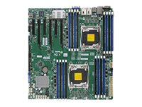 X10DRi-T Intel C612 LGA 2011 (Socket R) Erweitertes ATX Server-/Workstation-Motherboard