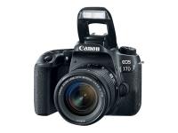 EOS 77D + 18-55mm F4.0-5.6 IS STM SLR-Kamera-Set 24.2MP CMOS 6000 x 4000Pixel Schwarz