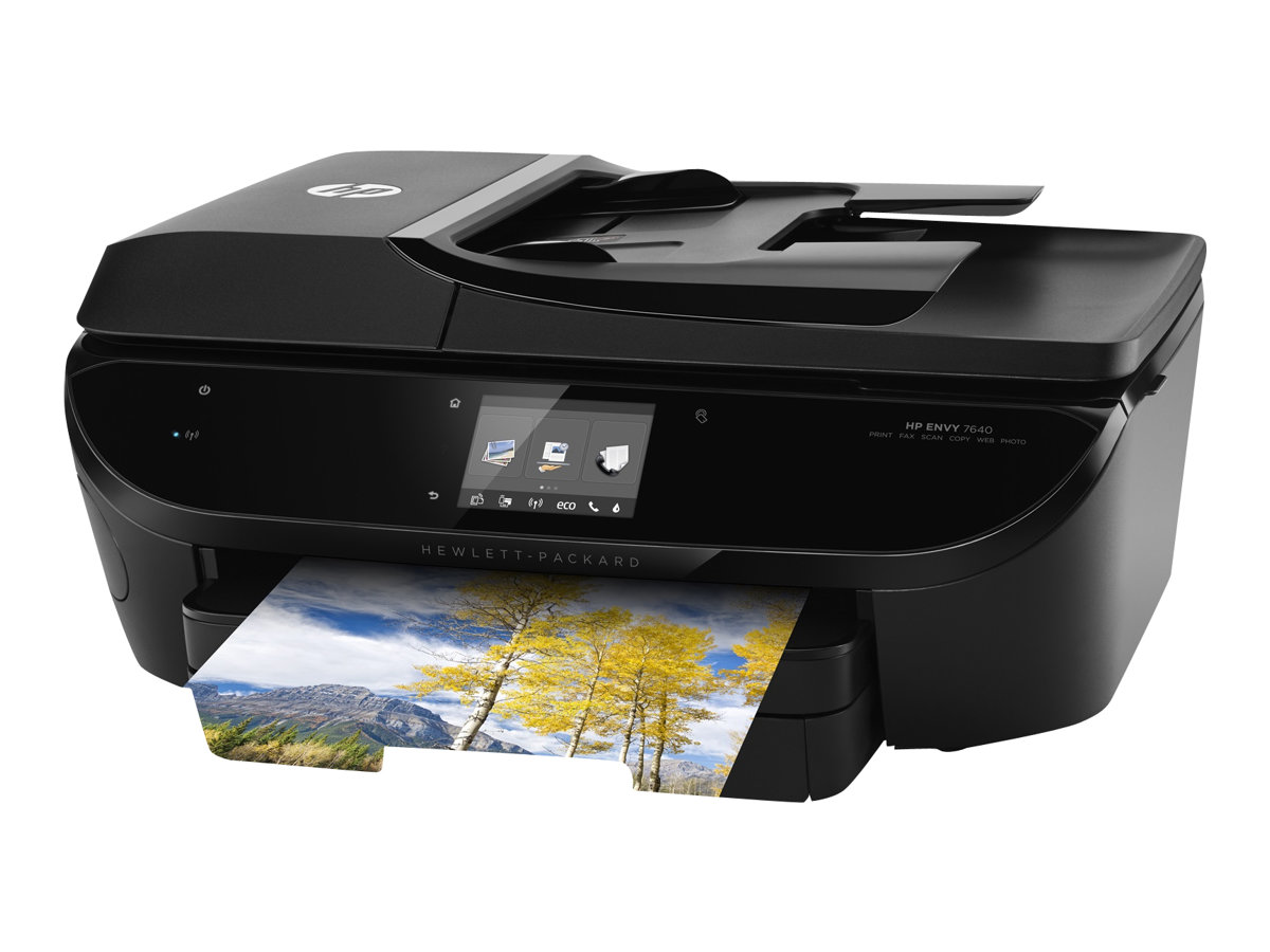 HP Envy 7640 e-All-in-One - Multifunktionsdrucker - Farbe - Tintenstrahl - Legal (216 x 356 mm)
