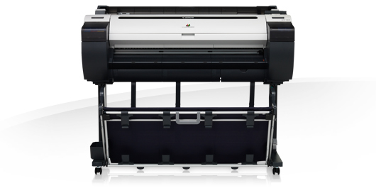 Canon imagePROGRAF iPF785 Farbe Tintenstrahl 2400 x 1200DPI Schwarz - Grau Großformatdrucker