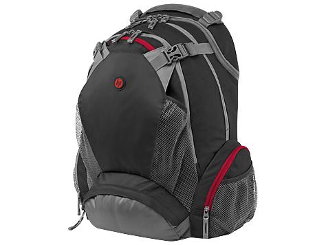 HP 17.3 Backpack 17.3Zoll Rucksack Schwarz - Grau - Rot