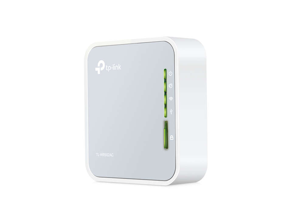 TP-LINK TL-WR902AC - Wireless Router - 802.11a/b/g/n/ac