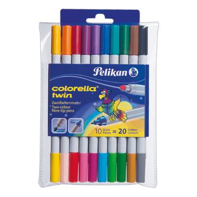 Pelikan 949511 - Colorella Twin - Fasermaler - Mehrfarbig