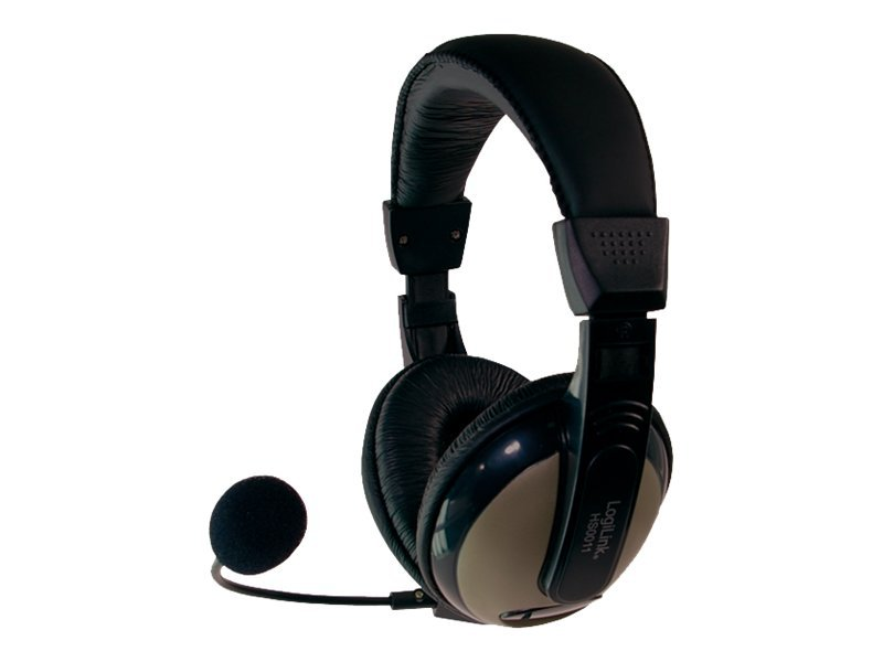 LogiLink Stereo Headset with High Comfort