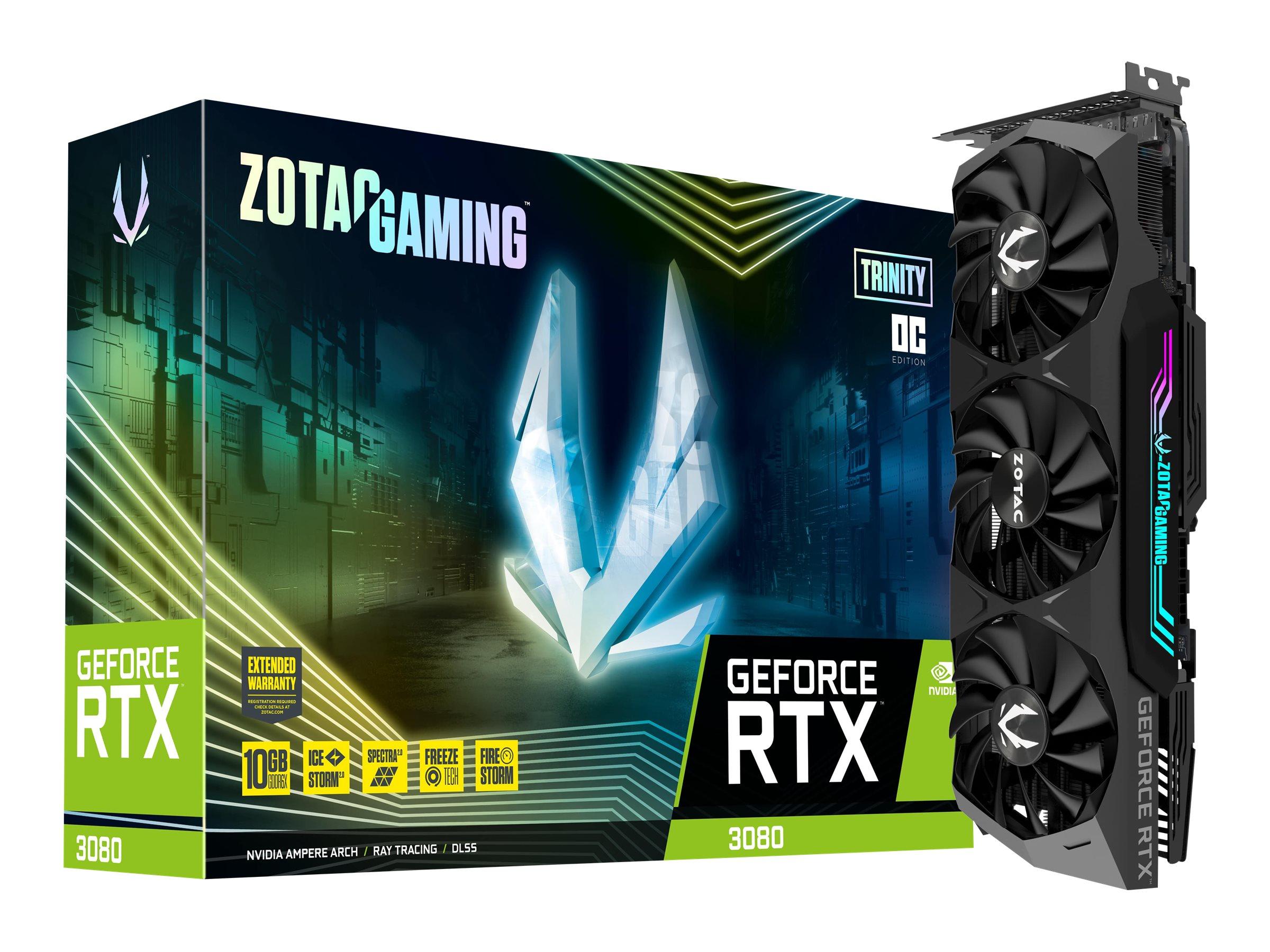 ZOTAC GAMING GeForce RTX 3080 Trinity OC - Grafikkarten