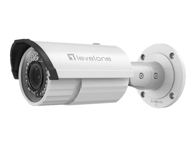 LevelOne FCS-5059 - Netzwerk-Überwachungskamera - Außenbereich - wetterfest - Farbe (Tag&Nacht)