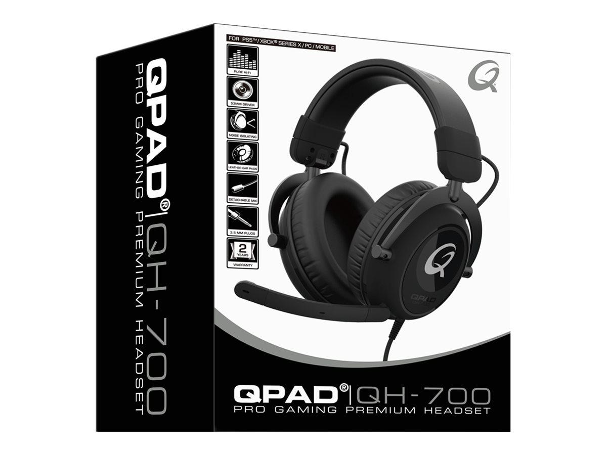 QPAD Pro QH-700 - Premium Gaming - Headset - ohrumschließend