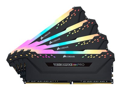 Corsair Vengeance RGB PRO - DDR4 - Kit - 32 GB: 4 x 8 GB