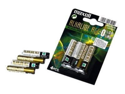 Maxell LR03 - Batterie 10 x AAA-Typ - Alkalisch