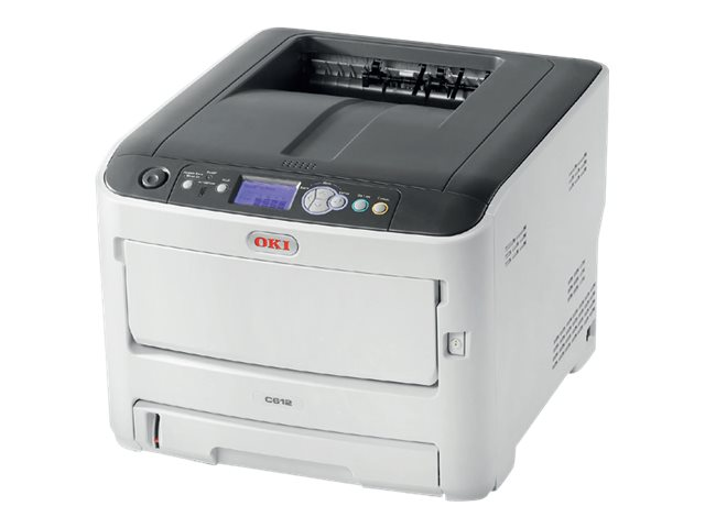 OKI C612n - Drucker - Farbe - LED - A4 - 1200 x 600 dpi - bis zu 36 Seiten/Min. (einfarbig)/