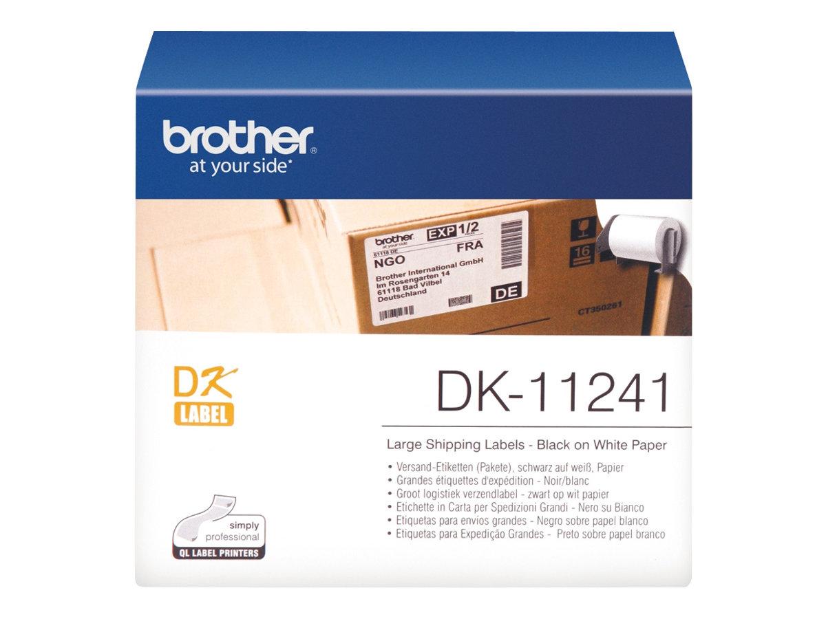 Vorschau: Brother DK-11241 - 102 x 152 mm 200 Etikett(en) Versandetiketten
