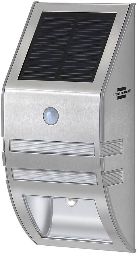 Brennenstuhl SOL WL-02007 - Bodenbeleuchtung für den Außenbereich - Edelstahl - Edelstahl - IP44 - Bewegungssensor - LED