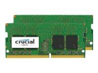 Crucial DDR4 - 16 GB: 2 x 8 GB - SO DIMM 260-PIN