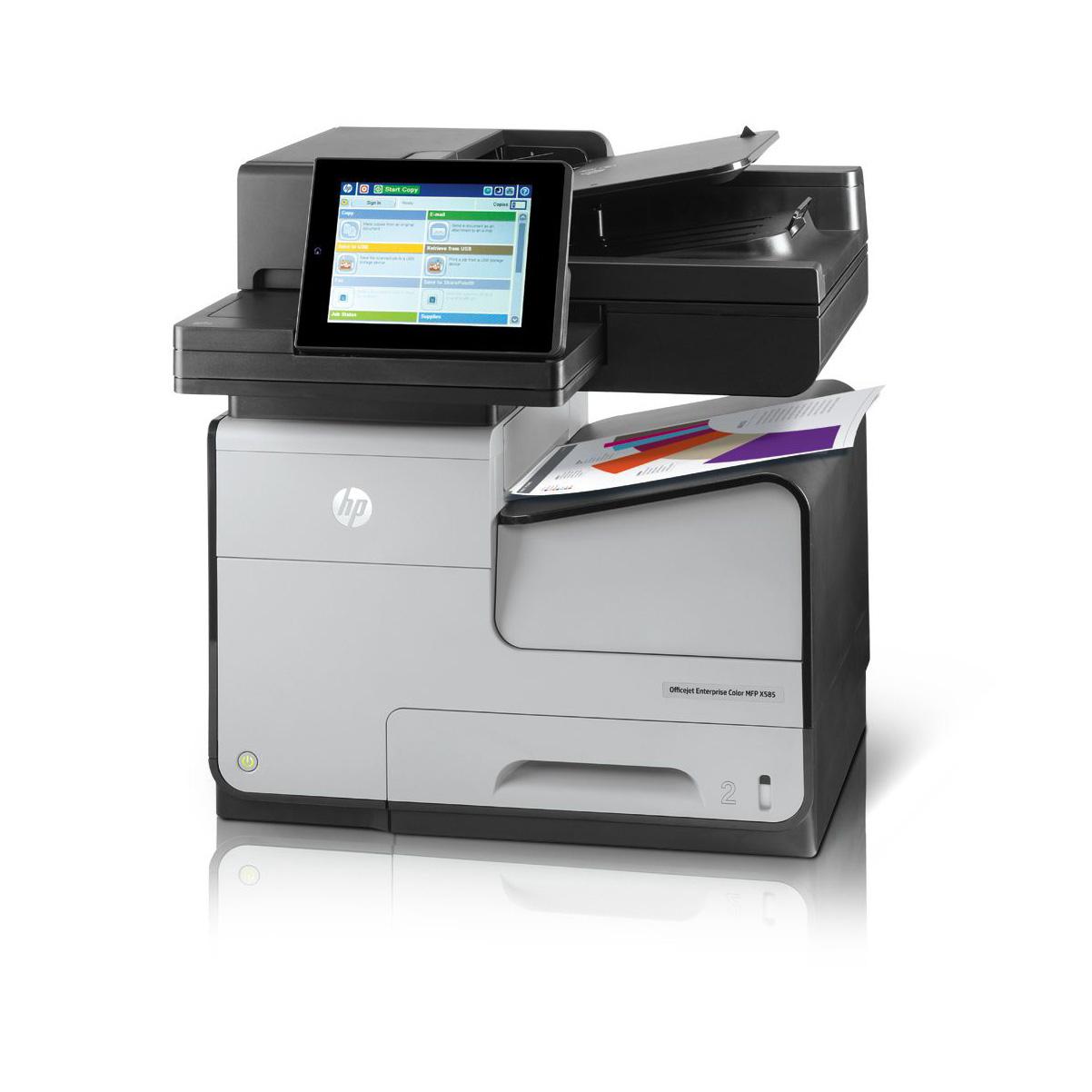 Vorschau: HP OfficeJet Enterprise Color Flow-MFP X585z