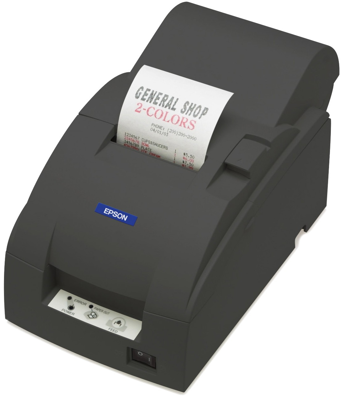 Epson TM-U220A Direkt Wärme POS printer