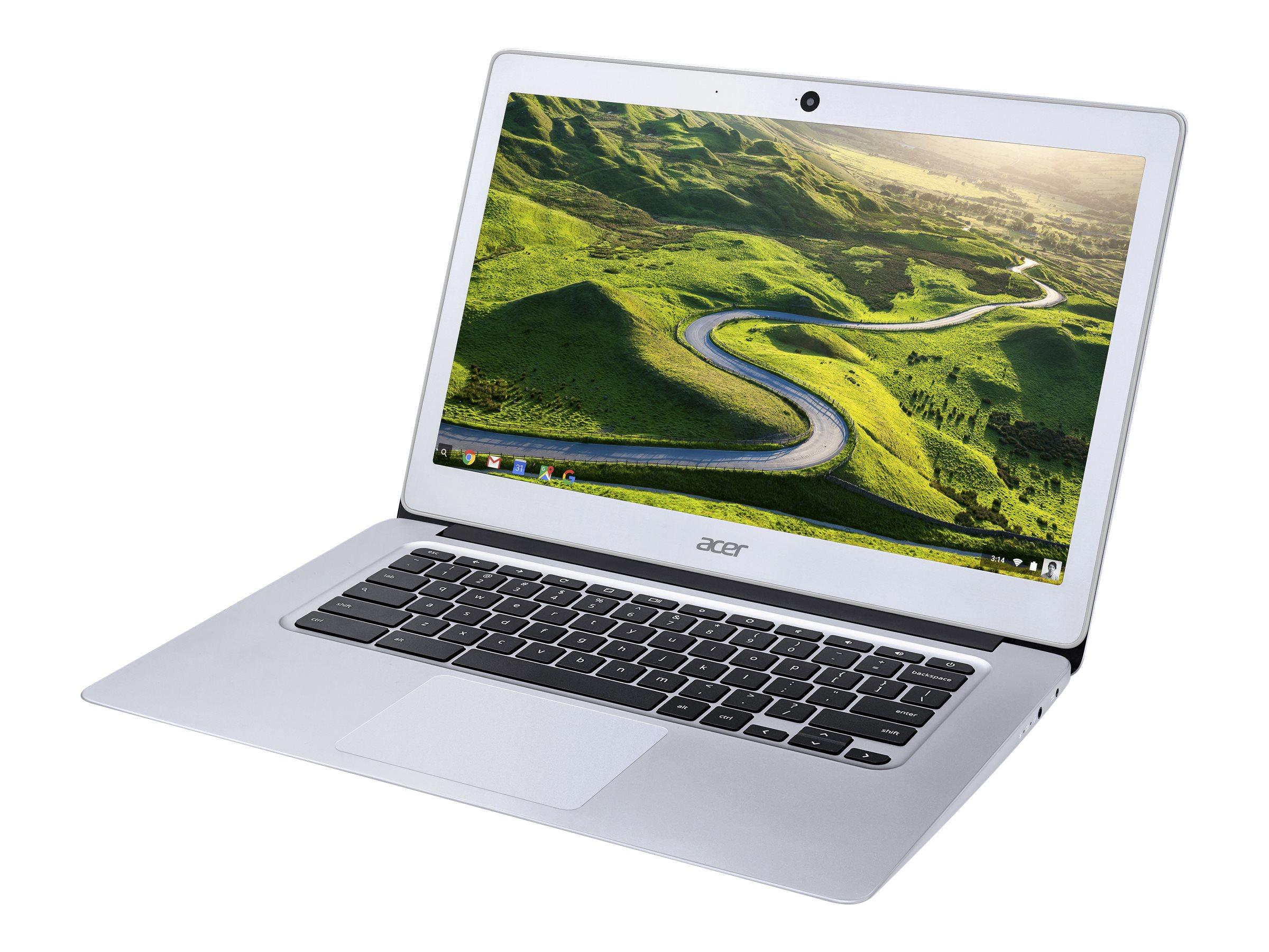 Acer Chromebook 14 CB3-431-C6UD 1.6GHz N3160 14Zoll 1920 x 1080Pixel Aluminium Chromebook