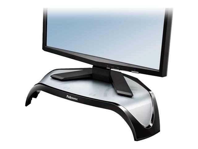 Fellowes Smart Suites Corner Monitor Riser - Aufstellung für Monitor - Acrylnitril-Butadien-Styrol (ABS)